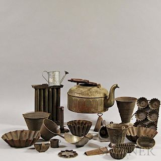 Group of Domestic Tinware