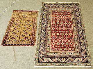 Shirvan and Baluch Prayer Rugs