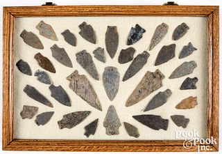 Thirty-two lower Susquehanna River stone points