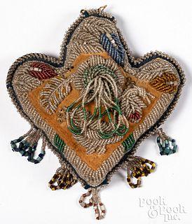Niagara Native American Indian beaded pin cushion