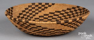 Apache Indian coiled basket