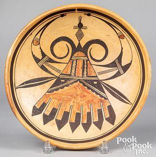 Hopi Indian Sikyatki pollaca polychrome dish