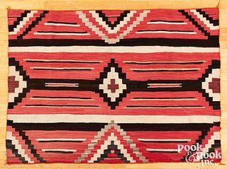 Navajo Indian child's size blanket