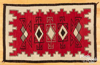 Navajo Two Grey Hills rug, early 20th c.