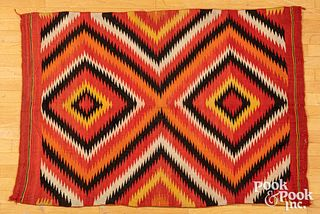 Navajo Indian Ganado red Germantown rug