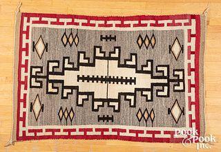Navajo Indian Klagetoh regional rug, mid 20th c.