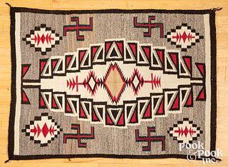Navajo Indian Klagetoh regional rug, early 20th c.