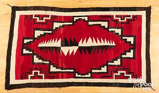Navajo Indian Ganado red rug, early 20th c.