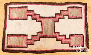 Navajo Indian simplistic storm pattern rug