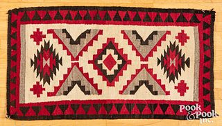 Navajo Indian rug, early 20th c.