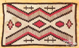 Navajo Two Grey Hills rug, ca. 1920