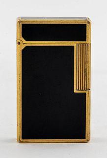 S. T. Dupont Enameled Brass Lighter