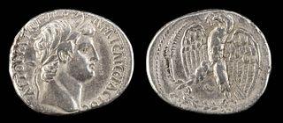 Roman Antioch Otho Silver Tetradrachm