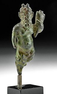 Roman Imperial Leaded Bronze Satyr