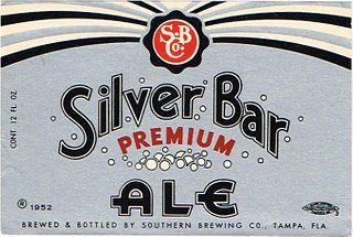 1952 Silver Bar Premium Ale 12oz - Tampa, Florida