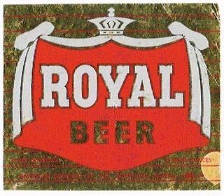 1954 Royal Beer 12oz - Honolulu, Hawaii