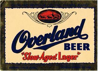 1946 Overland Beer 11oz WS70-01 - Nampa, Idaho
