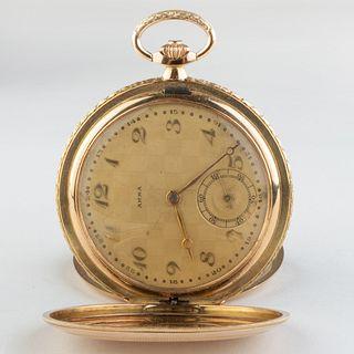 Arsa 14k Gold Pocket Watch