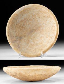 Fine Greek Cycladic Marble Dish