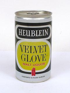 1968 Heublein Velvet Glove Malt Liquor 12oz T76-04