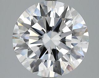 5.03 ct., E/VS2, Round cut diamond, unmounted, LM-0017