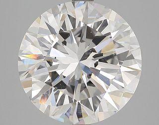 5.03 ct., G/VS2, Round cut diamond, unmounted, PK0433