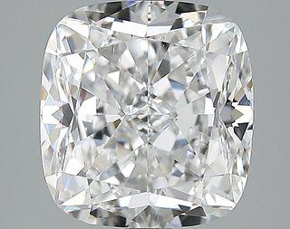 5.02 ct., E/VS1, Cushion cut diamond, unmounted, LM-0007
