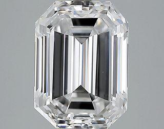 5.02 ct., D/VVS2, Emerald cut diamond, unmounted, LM-0003