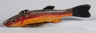 Early painted fish decoy