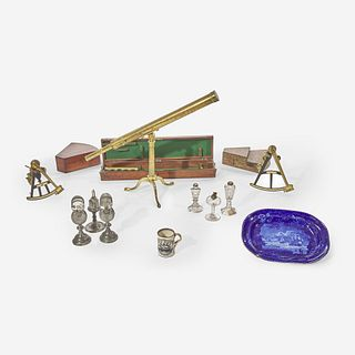 A group of thirteen Marine-related items First half 19th century
