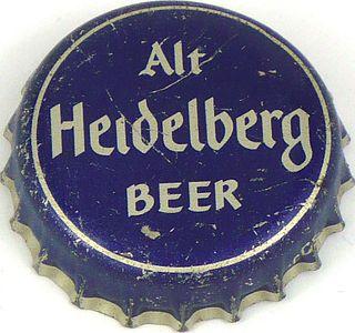 1937 Alt Heidelberg Beer 113mm long Bottle Cap Tacoma, Washington