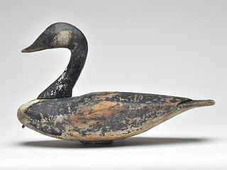 Extremely rare and important Canada goose, Lee Dudley, Knotts Island, North Carolina, last quarter 19th century.