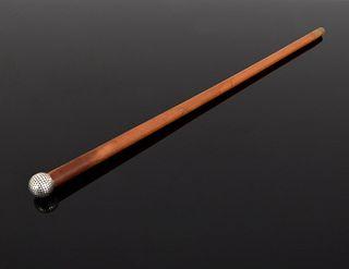 Hermes Golf Ball Cane/Walking Stick