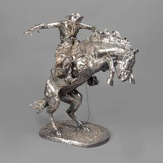 After Frederic Remington, The Broncho Buster, ca. 1999