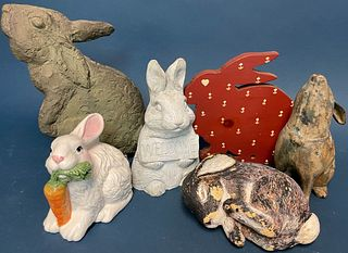 Rabbit Figures and Decorations.