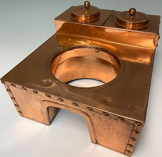 Brass Warming Vessel