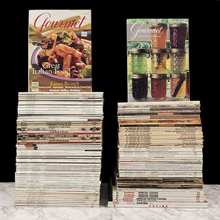 Lote de Revistas de Cocina Mexicana e Internacional. Total de piezas: 123.