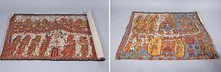 Two Sino-Tibetan Painted Thangkas