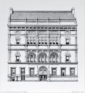 Rick Brosen, The Art Students League of New York, 2021