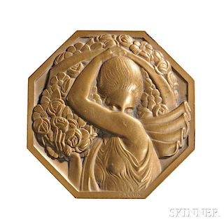 Pierre Turin Art Deco Bronze Medal