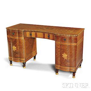 Art Deco Inlaid Desk