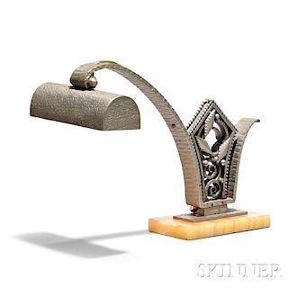 Art Deco Piano Lamp