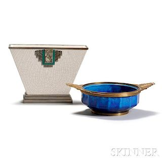 Art Deco Bowl and Vase