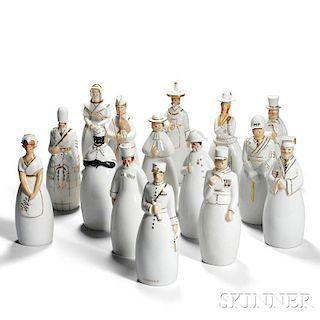 Fifteen Robj Decanters