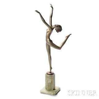 Joseph Lorenzl Sculpture of a Nude