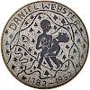 EDWIN AND MARY SCHEIER Daniel Webster charger