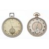 A Pair of Open Face Pocket Watches