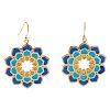 Gold Plated Sterling Silver Plique-