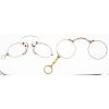 10 Karat Gold Pince Nez Glasses PLUS