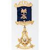 9 Karat Gold Masonic Pin